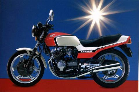 Honda CBX400F 81 1