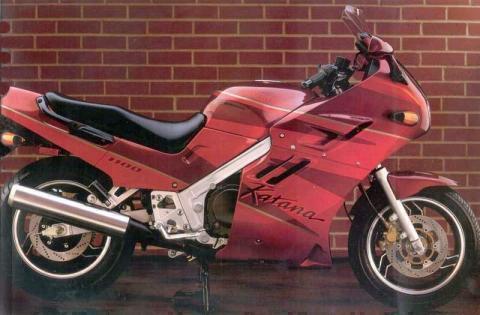 Suzuki GSX 1100F 92 4