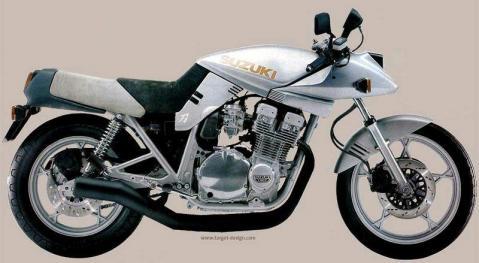 Suzuki GSX 1100SX Katana Prototype 81