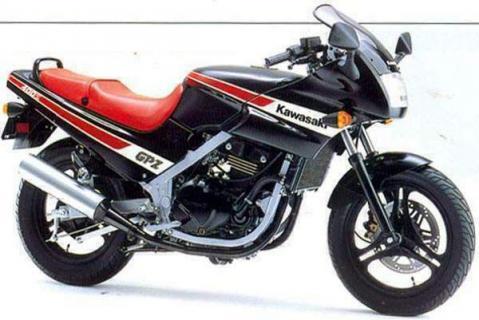 Kawasaki GPZ400S 86