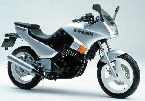 Kawasaki GPz 250R 85