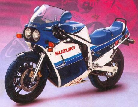 Suzuki GSXR750 85