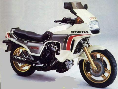 Honda CX500 Turbo 6