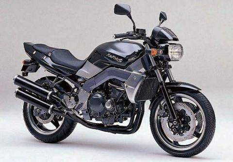 Kawasaki ZR 400 Xanthus 92