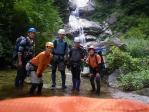 11 坊主の滝にて