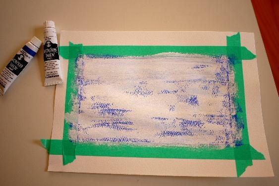 青の製作2