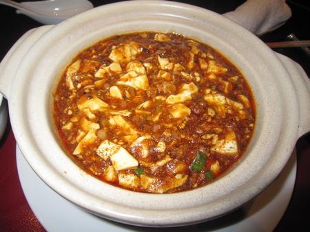 京豆腐の麻婆豆腐