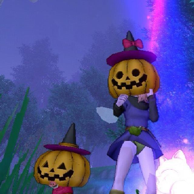 うさぎサポ:かぼちゃプク