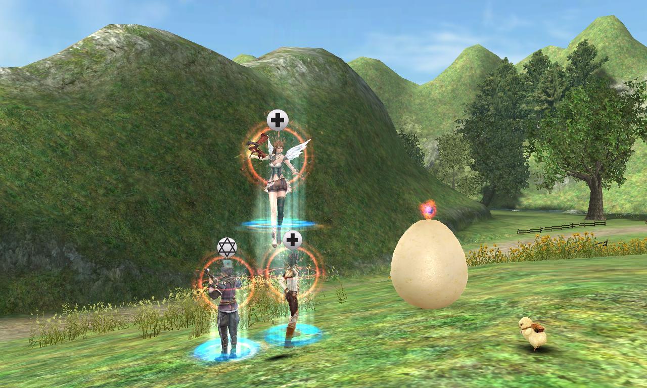 幸せを運ぶグリ卵さん。