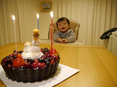 ケーキと惣平