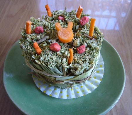 うさぎケーキ