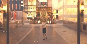 誰もいない大阪の街