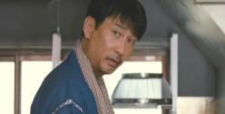 お好み焼きの主人・真田幸一