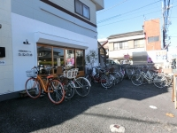 自転車がいっぱい!