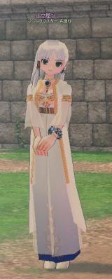 ポーシャ服+カツラ