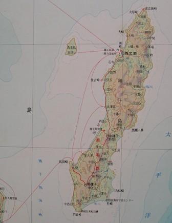 種子島地図