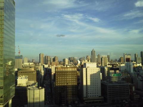 事務所からの景色
