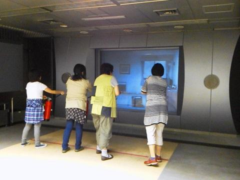 消火体験コーナー@本所防災館