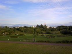 大雪山が遠く見える日