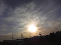 幻想的な夕日です(^^)