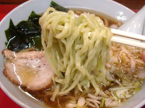 龍昇園・H23・1 ラーメン 麺