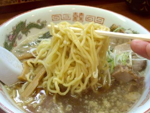 やじろう新小路店・H22・10 醤油ラーメン麺