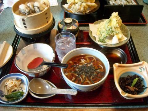 小嶋屋総本店(県央店)・H22・11 牡蠣の炊き込みご飯膳