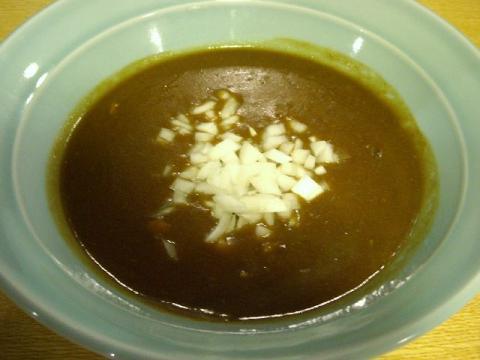 小川屋荒町店・H22・11 カレーつけ麺 スープ