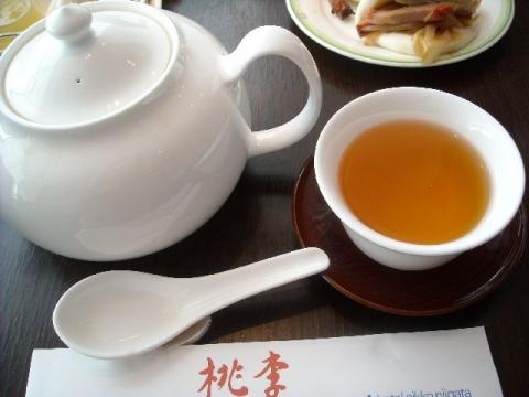 桃季・烏龍茶