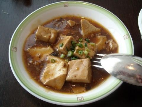 桃季・四川麻婆豆腐1