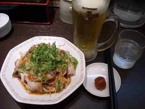 来来亭 三条店・H24・7 豚しゃぶ1