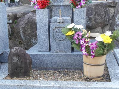 春蝶のお墓2