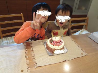 ちびちゃんお誕生日会