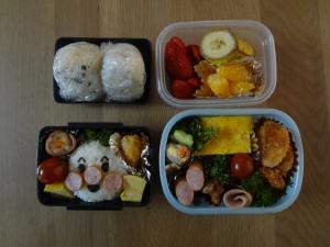 ママ&ちびちゃん弁当