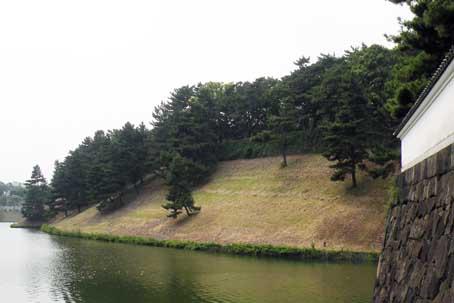 s江戸城土塁