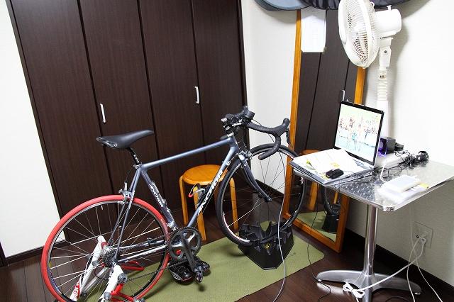 自転車部屋化