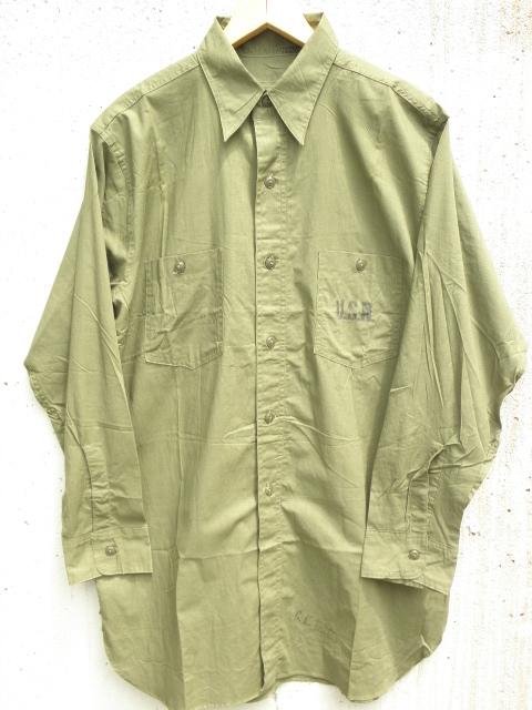 42USNAVYコットンポプリンシャツ 003