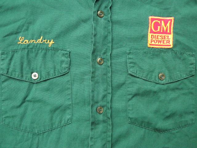 106M-43とチェーン刺繍シャツ 010
