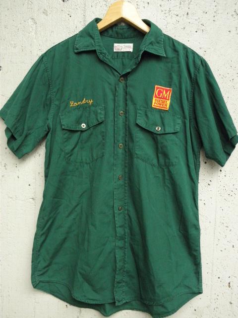 106M-43とチェーン刺繍シャツ 002