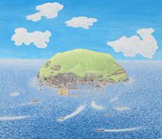 祝島-絵-西村-繁男-拡大