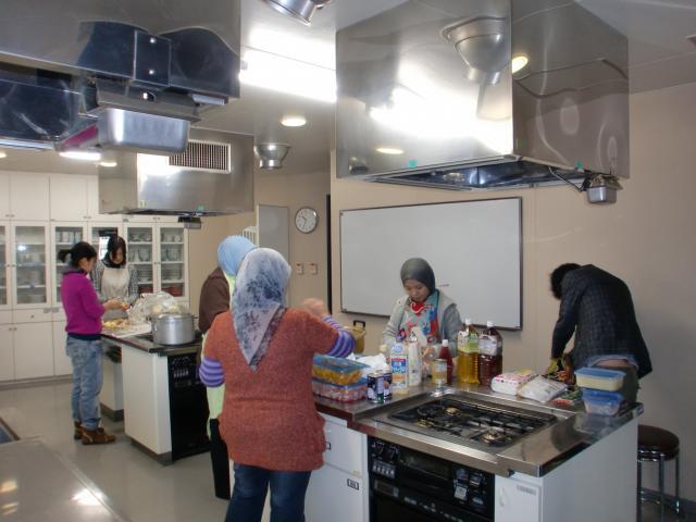 広島留学生会館調理室