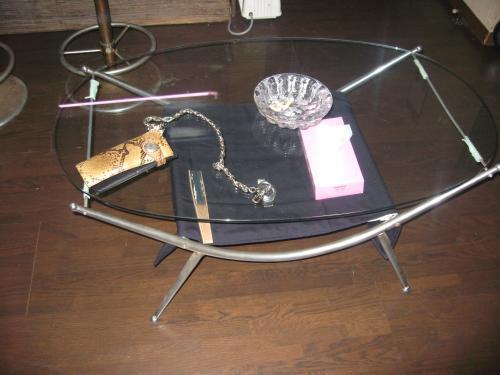 テーブルの生地を変更