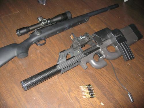 黒須の愛銃の一部紹介
