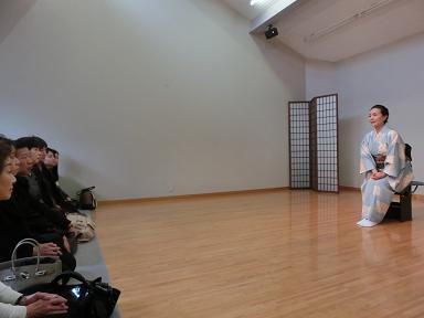日本舞踊の話