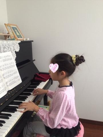 ピアノの練習☆