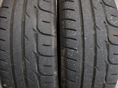 タイヤの摩耗具合