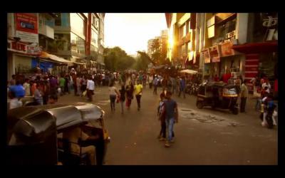 ムンバイの町並み