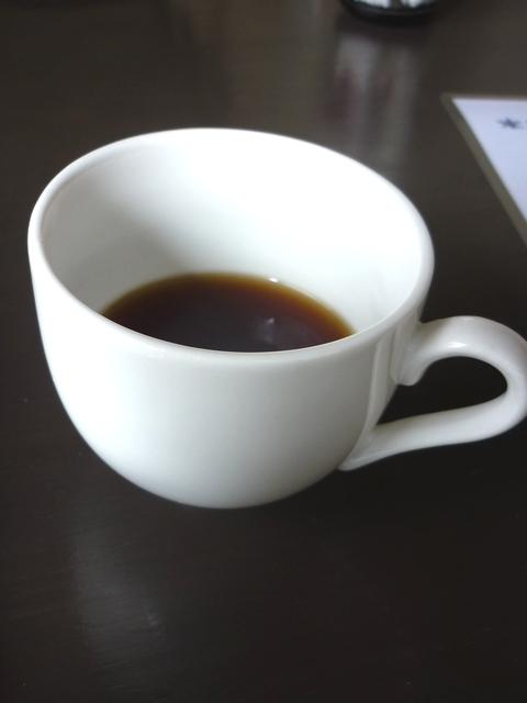 ホットコーヒー味見用