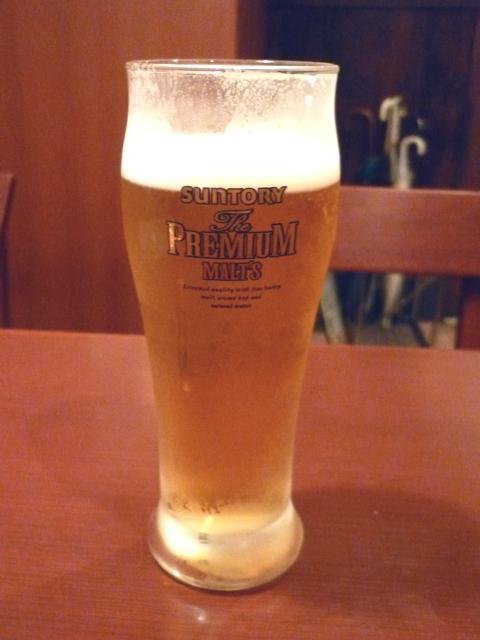 きぬ川 生ビール