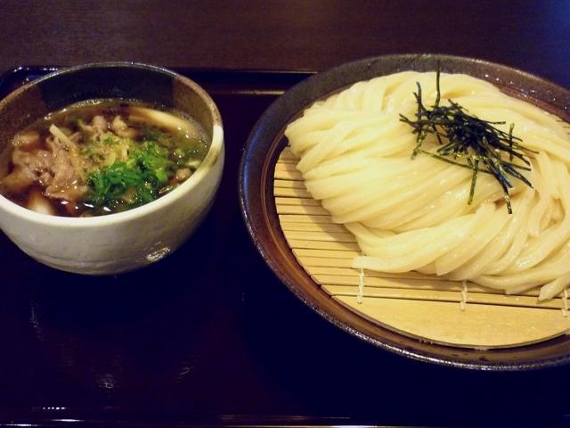 豚バラ肉のつけ麺